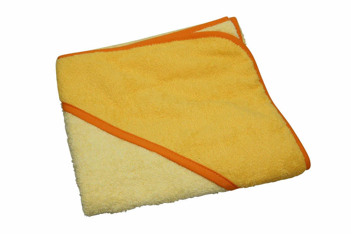 Baby Geschenkset Kapuzenbadetuch Badetuch Kinder Handtuch Geschenk  1832 Gelb