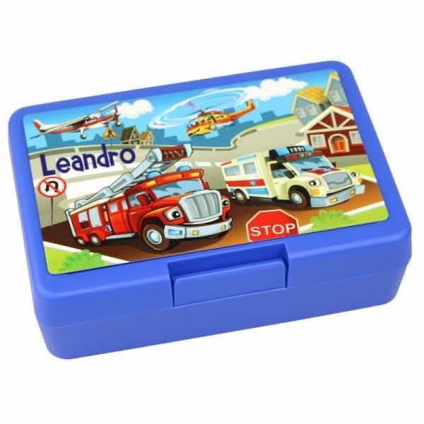 Brotbox mit Name Feuerwehr
