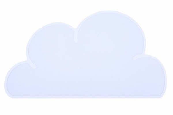 Tischset Wolke weiss