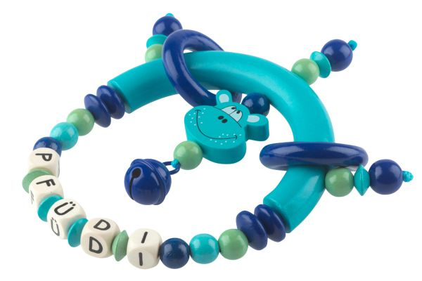 Greifling Hippo blau:türkis