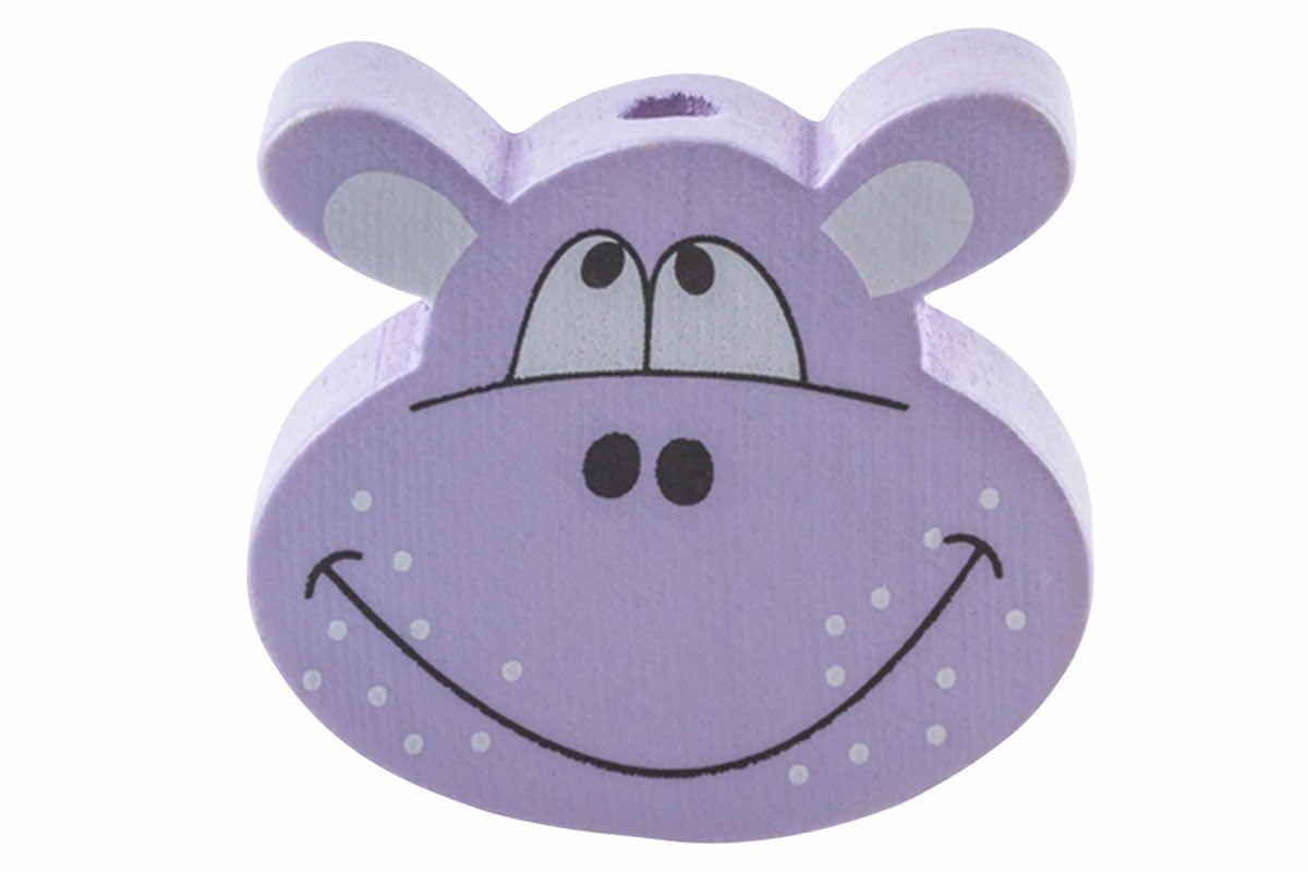 Motivperlen Hippo