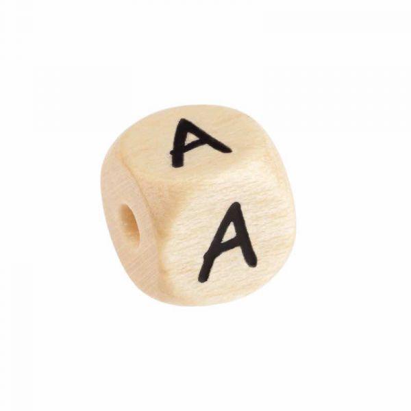 Buchstaben Holz geprägt COMIC 12mm Einzeln