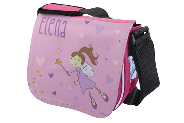 Kindergartentasche mit Name Zauberfee