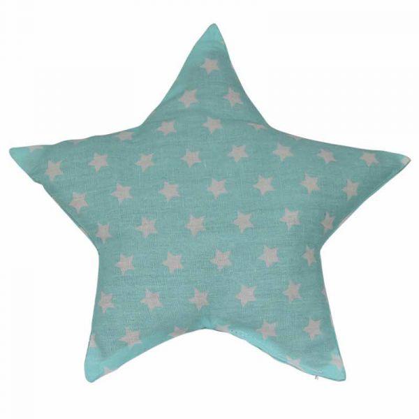 Traubenkernkissen Sterne mint