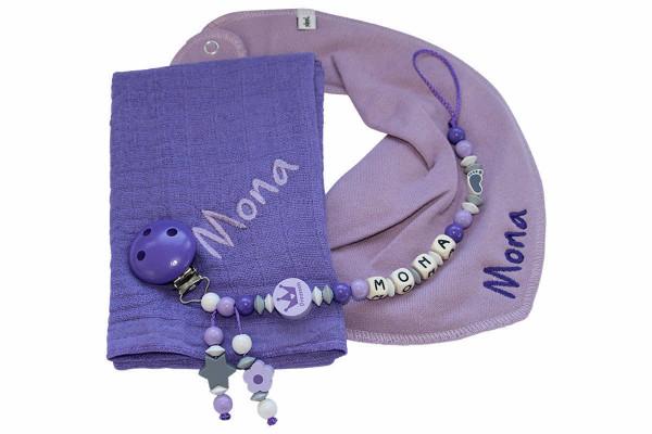 Geschenkset Prinzessin flieder:lila