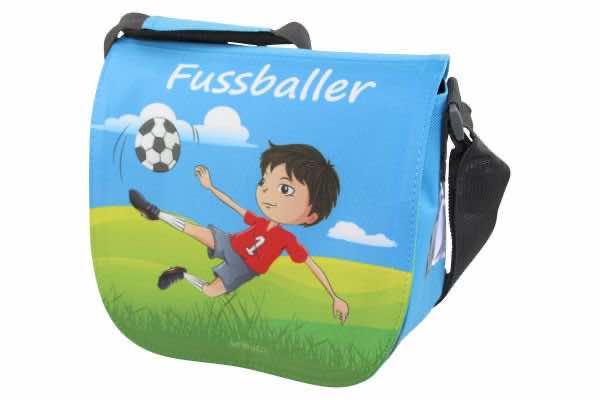 Kindergartentasche mit Name Fussballer