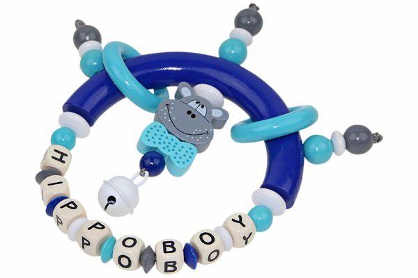 Greifling Hippo blau