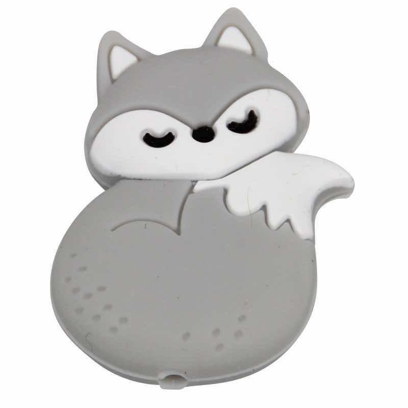 Silikonmotiv Fuchs schlafend
