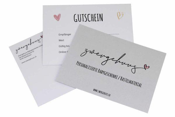 Geschenk-Gutschein Fr. 100.00