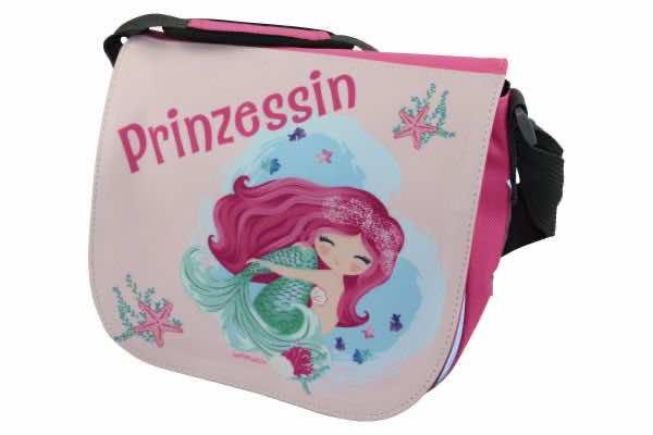 Kindergartentasche mit Name Meerjungfrau